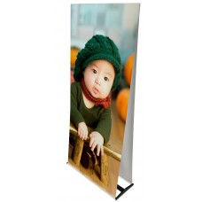 "Twin ""A"" Banner Stand (35.5"" x 83.5"")"