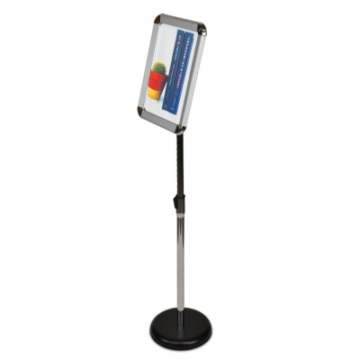 "Small Adjustable Height Floor Stand (8.75"" x 12"")"