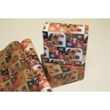 Personalized Squares Gift Wrap